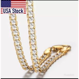 Gold Filled Chain Link Necklace